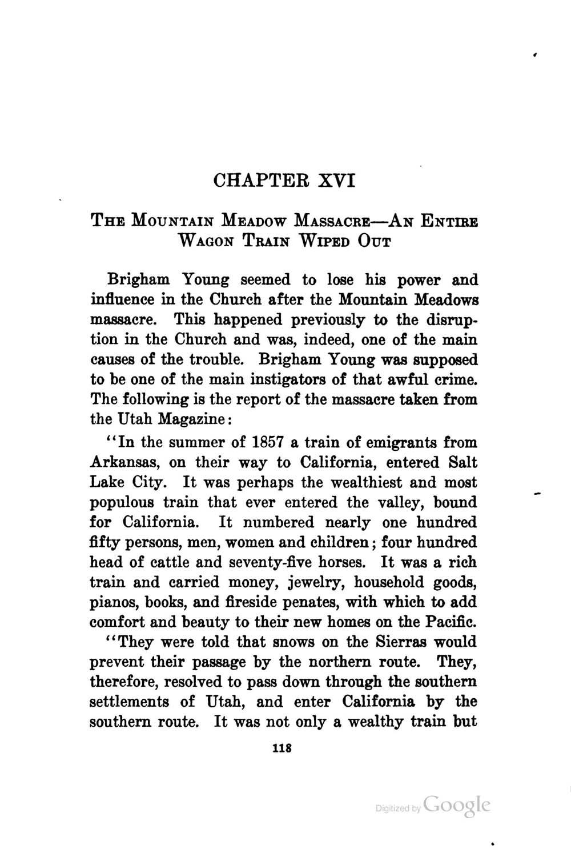 chapter 16 brigham
